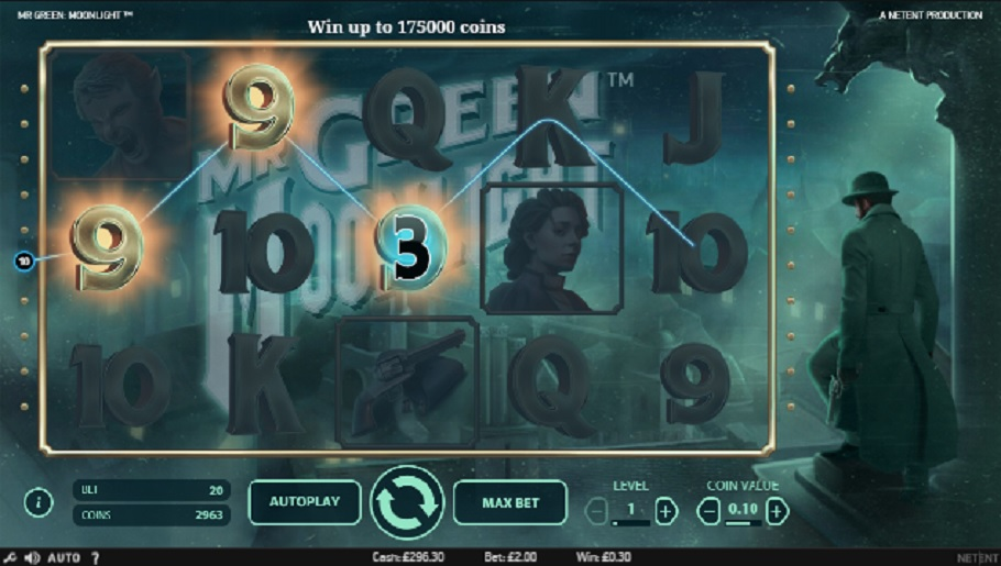 Mr Green Moonlight slot - spil online gratis
